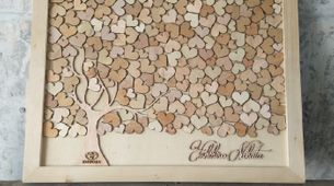 Frame Guest Book by WoodLove
