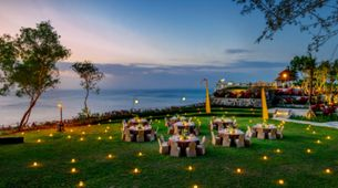 SKY SUNSET COCKTAIL & DINNER - COMPLETE PACKAGE 300 GUESTS
