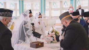 Intimate Wedding + Live Streaming