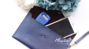 Envelope Leather Pouch (Regular) 03