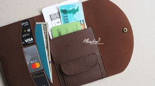 Travel Wallet with Coin Pouch