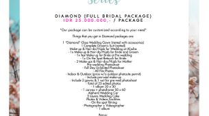 "Paket Bridal Wedding ""Diamond"" (Full Bridal Package)"
