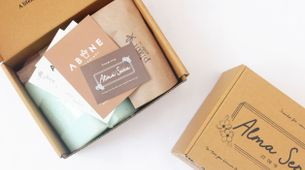 ABANE Succulent Signature Glass Planter Kit
