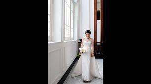 Intimate Wedding gown - Custom rent