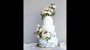 5 Tiered Wedding Cake B