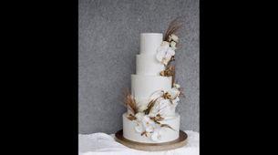 5 Tiered Wedding Cake A