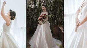 Custom Rent 2- Looks Wedding Gown (Mermaid/ Sheath/ A-Line Silhouette)
