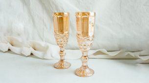 Champagne Glass Citrus