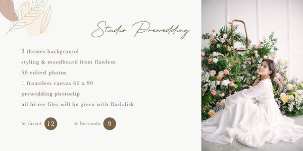 Studio Prewedding Promo By Farant Marshall