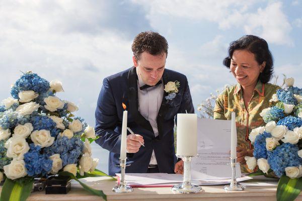 Legal Wedding Civil Paperwork 20 pax - Badung