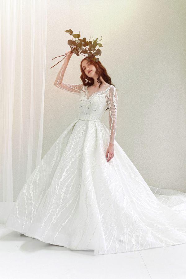 Ballgown Wedding Dress + Prewedding Dress by iLook ( Makeup & Couture )