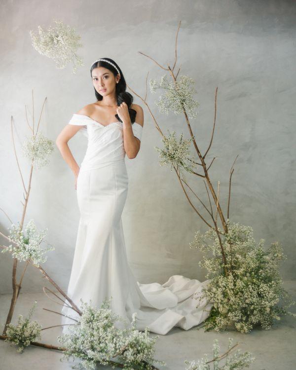 Mermaid Wedding Dress + Prewedding Dress by iLook ( Makeup & Couture )