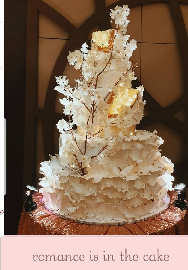 Wedding cake 5 tier