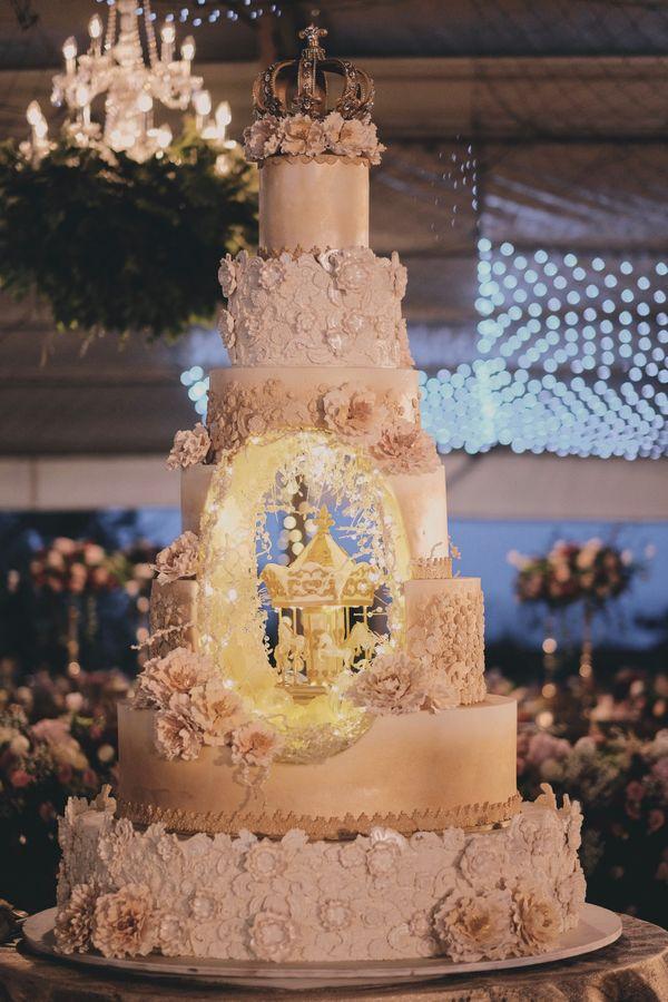 7-Tiers Dummy Wedding Cake