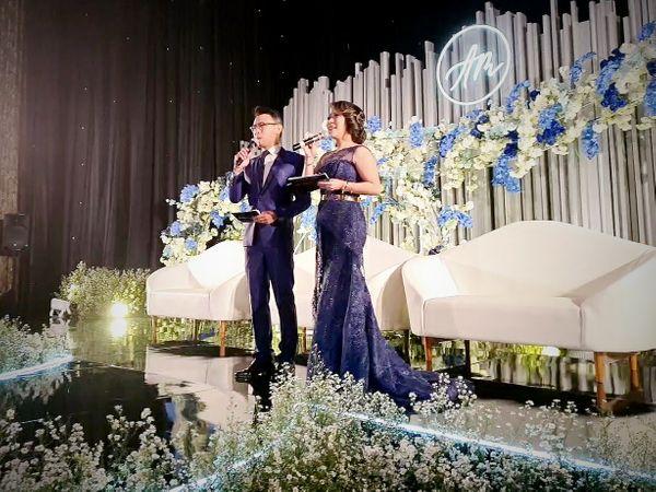 MC Ike Yang Wei Wei 杨微微 for Evening Weekend Wedding Reception