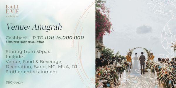Anugrah Villa Customize Wedding Package