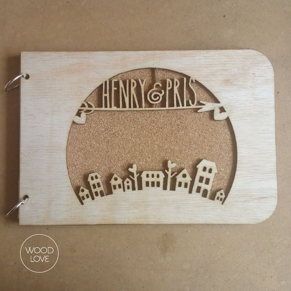 Ring Guest Book by WoodLove