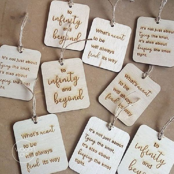 Wooden Tag by WoodLove
