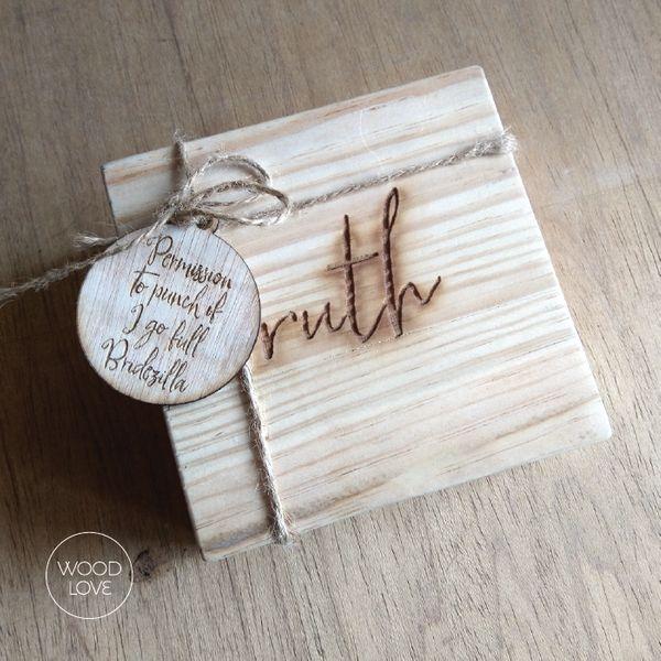 Pinewood Box by WoodLove