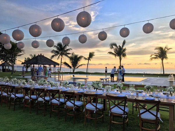 Atas Ombak - Villa Wedding for 80 pax