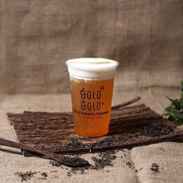 Gulu Gulu - Cheese Peach Tea