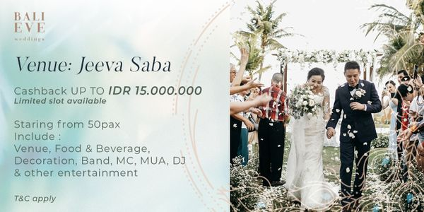 Jeeva Saba Customize Wedding Package