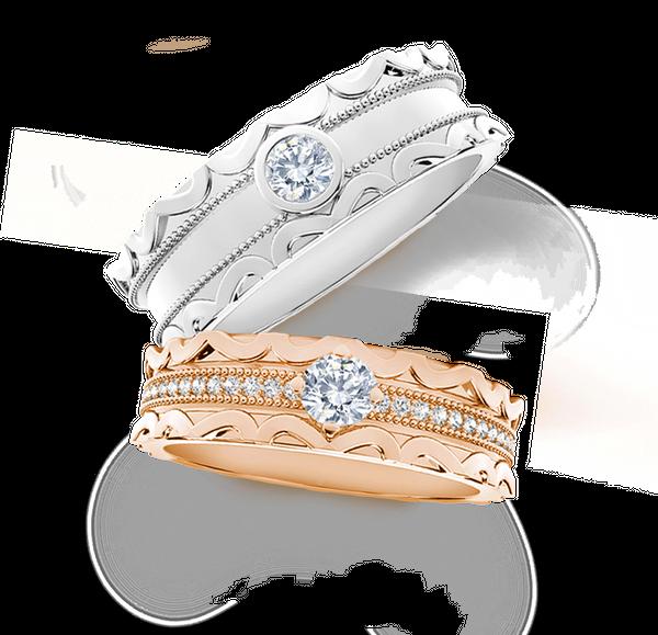 DP FOREVERMARK DIAMOND WEDDING RING (GROOM'S RING)