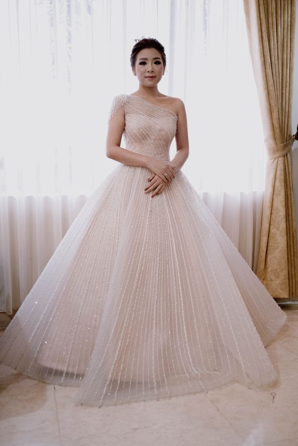 DAISY - A Line Wedding Gown