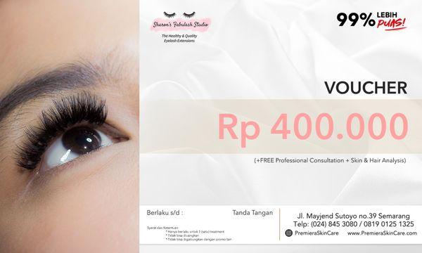 Voucher Klinik Kecantikan Premiera Skincare Semarang   VOUCHER EYELASH