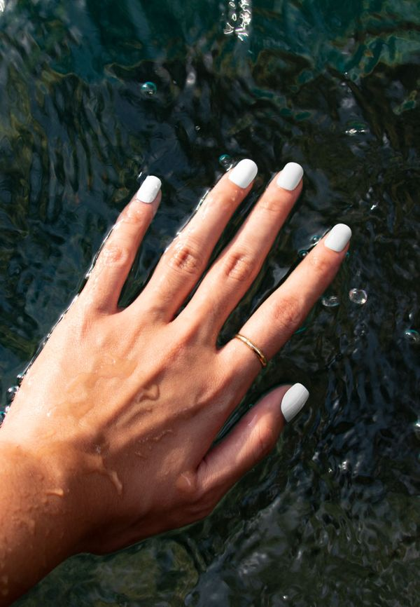 White Dignity by Eze Nails