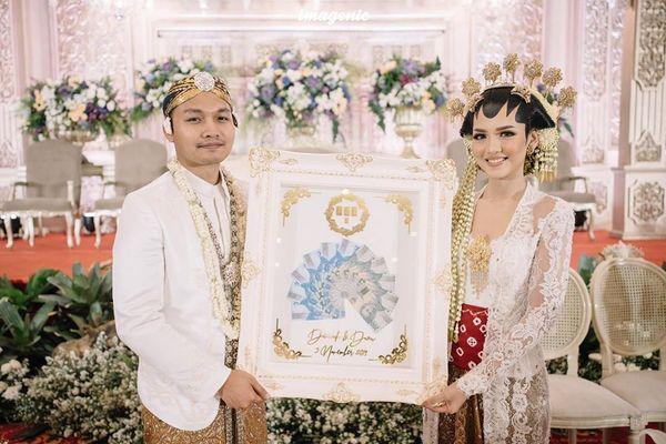 Mahar Pernikahan Luxury Frame