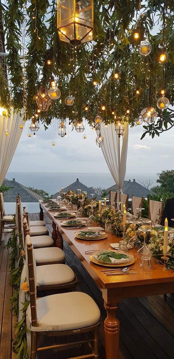 Sekar Jagat Bali - Paket Elegan II Dinner Decoration for 100pax