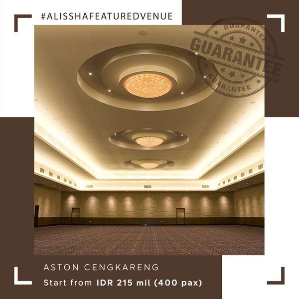 Paket Pernikahan All-in Alissha - Aston Cengkareng