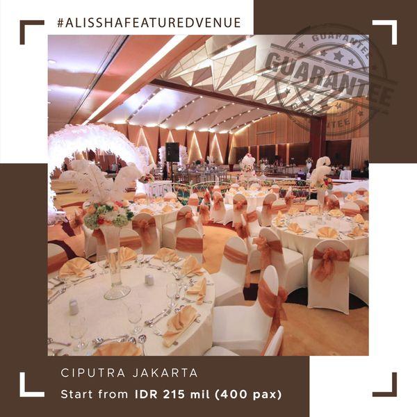 Paket Pernikahan All-in Alissha - Ciputra Jakarta