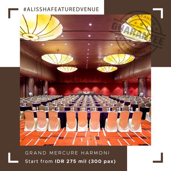 Paket Pernikahan All-in Alissha - Grand Mercure Jakarta Harmoni