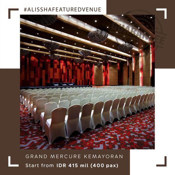 Paket Pernikahan All-in Alissha - Grand Mercure Jakarta Kemayoran
