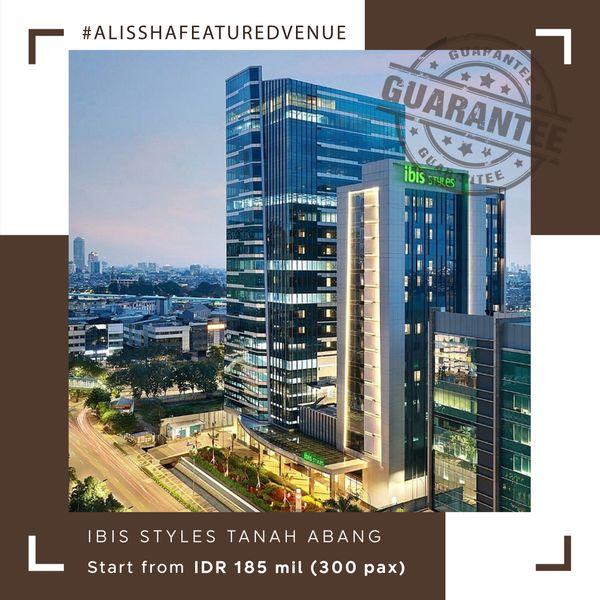 Paket Pernikahan All-in Alissha - Ibis Styles Jakarta Tanah Abang