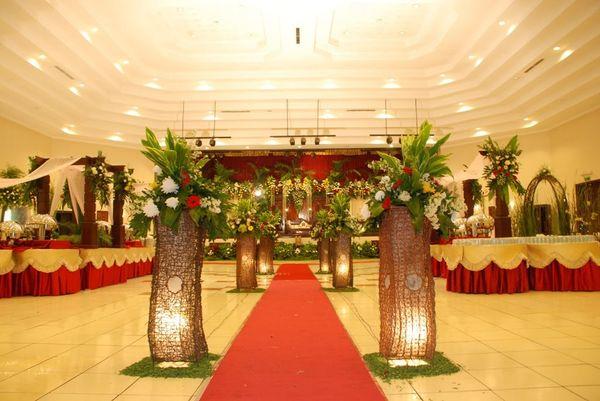 Paket Pernikahan Gedung Pandansari Taman Bunga Wiladatika 600 pax