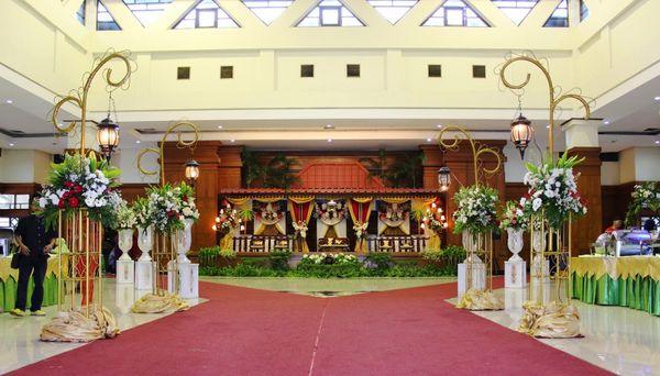Paket Pernikahan Gedung Pencak Silat TMII 600 pax