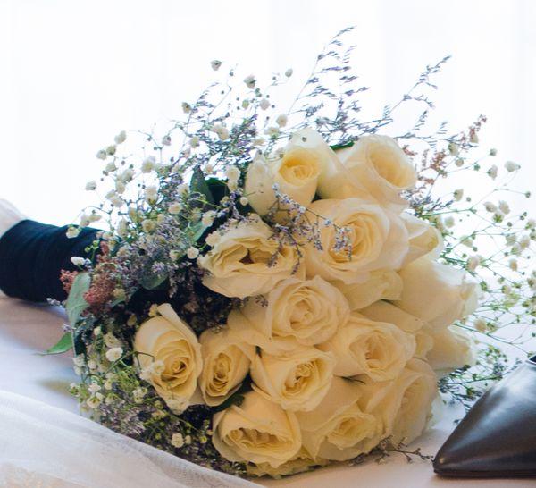 Hand Bouquet & Boutonnière