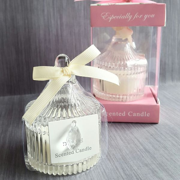 Candle in candy jar - CH 81