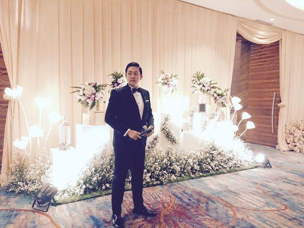 MC Leonardus Eric for Evening Weekend Wedding Reception