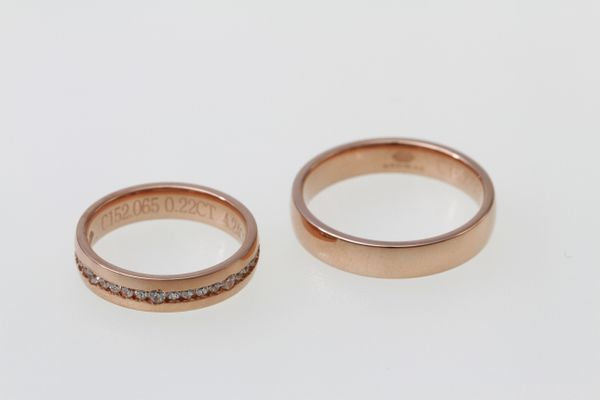 SIORAI Wedding Ring 02181374A01A Cincin Wedding Berlian (Pre Order)