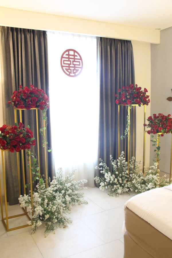 Standard Tea Pai Decoration for Chinese Wedding