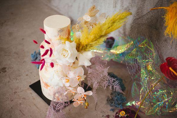 Three Tier Customizable Wedding Cake
