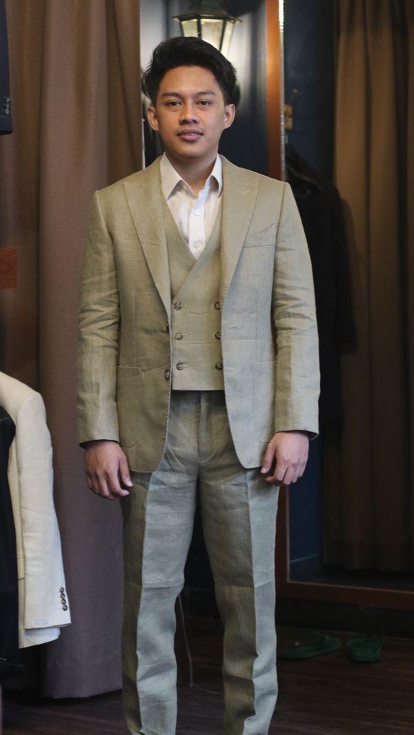 Linen Suits (Jacket + Trouser) Spence & Bryson Linen Fabric