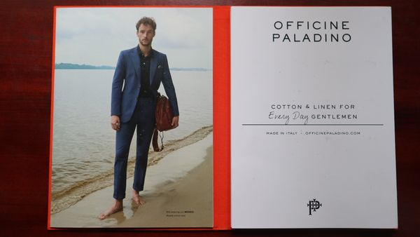 Suit or Jacket Cotton or Linen Fabric Paladino