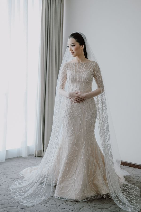 Iris - Mermaid Wedding Gown