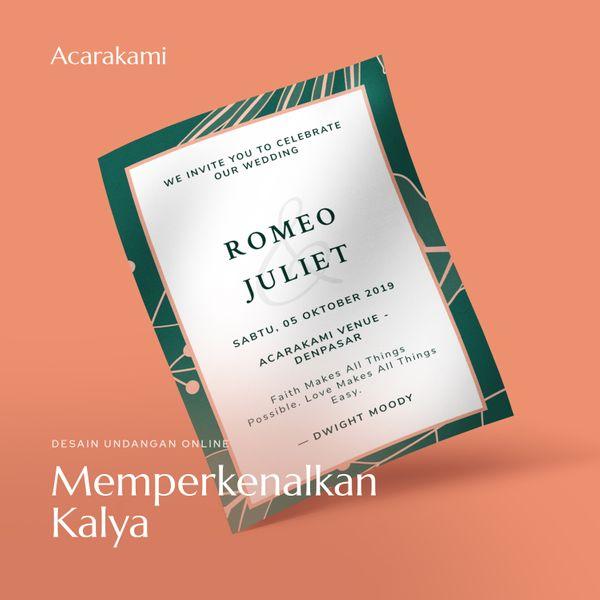Undangan Online / Undangan Digital / Undangan Website - Desain Kalya