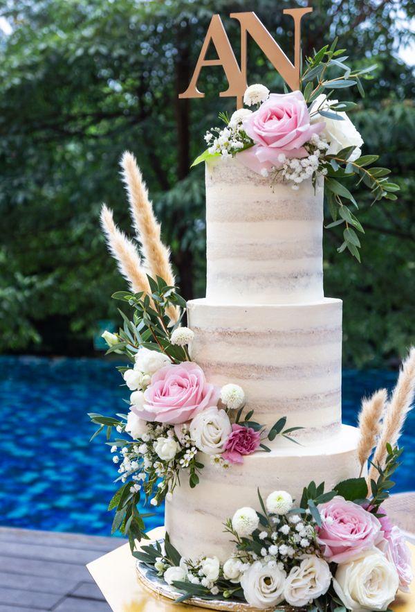 Lareia Cake & Co - Wedding Cake 4 Tier B